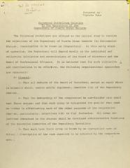 Suggested Guidelines Relative to the Operatives of the Repository of Puerto Rican Records