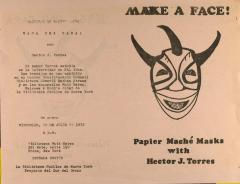 Make a Face! Papier-mâché Masks with Hector J. Torres