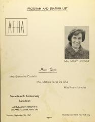 Agrupacion Femenina Hispano-Americana, Inc. / Hispanic-American Female Association, Inc.