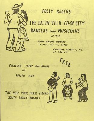 Polly Rogers and The Latin Co-Op City Dancers and Musicians