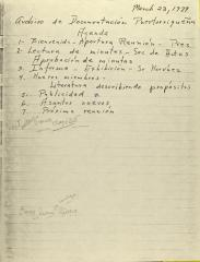 Archivo de Documentacion Puertorriqueña - Agenda