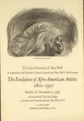 The Evolution of Afro-American Artists: 1800-1950