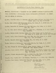 Members of the Archivo de Documentacion Puertorriqueña
