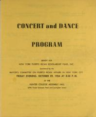 Concert and Dance Program