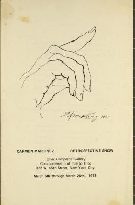 Carmen Martinez - Retrospective Show