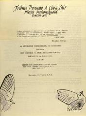Triburo Postumo a Clara Lair - Poesía Puertorriqueña - Posthumous tribute to Clara Lair - Puerto Rican Poetry
