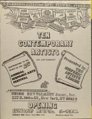 Ten Contemporary Artists: An Art Exhibition