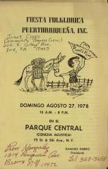 Fiesta Folklorica Puertorriqueña