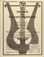 Zarzuela & Operatic Highlights