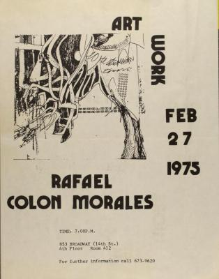 Rafael Colon Morales - Art Work