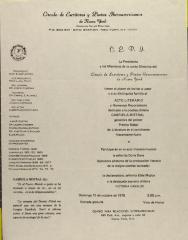 Homenaje a Gabriela Mistral / Homage to Gabriela Mistral