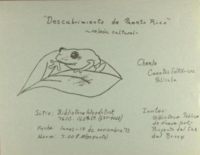 Descubrimiento de Puerto Rico / Discovery of Puerto Rico