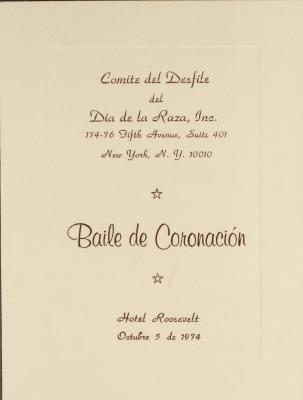 Baile de Coronación / Coronation Dance
