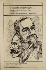 Homenaje A Eugenio Maria De Hostos Y Jose Marti / Tribute to Eugenio Maria De Hostos and Jose Marti