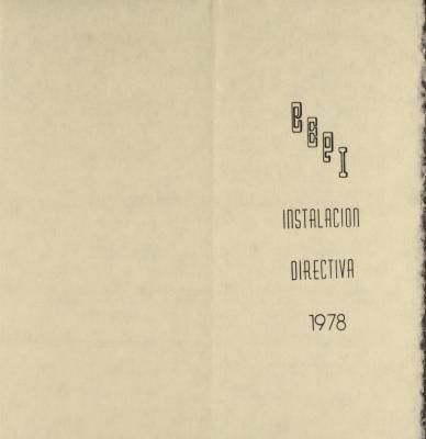 CEPI Instalación Directiva / Board Installation