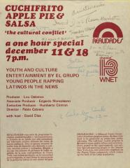 """Cuchifrito, Appie Pie & Salsa - """"The Cultural Conflict"""""""