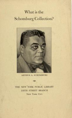 What is the Schomburg Collection?