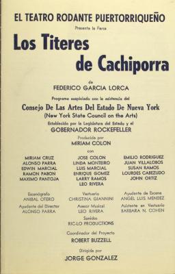 Los Títeres de Cachiporra / The Blackjack Puppets