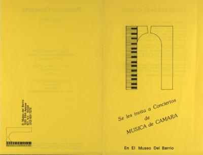 Música de Camara / Chamber Music