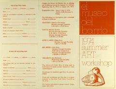 El Museo del Barrio - 1974 Summer ART Workshop