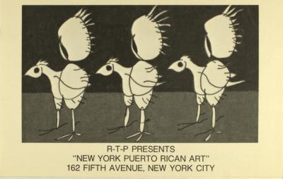 "R-T-P Presents ""New York Puerto Rican Art"""