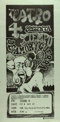 Teatro 4 Presenta Tiempo De Amor Y Guerra / Theater 4 Presents Time Of Love And War