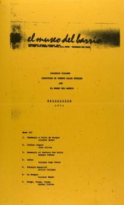 Exposición 1971 / Exposition 1971