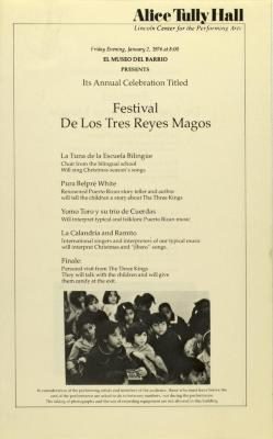 Festival de Los Tres Reyes Magos / Festival of the Three Wise Men
