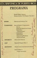 La Orquesta Sinfónica de Puerto Rico