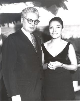 Joseph Monserrat and Miriam Colón