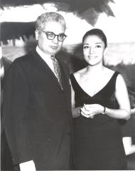 Joseph Monserrat and Miriam Colón