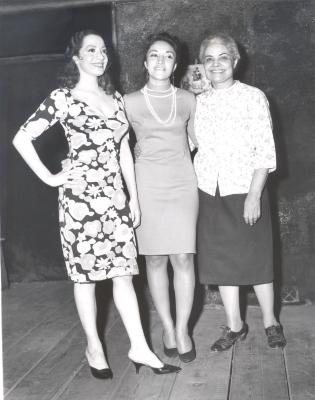 Miriam Colón (center) with Puerto Rican Traveling Theatre's production of La Carreta (The Oxcart)