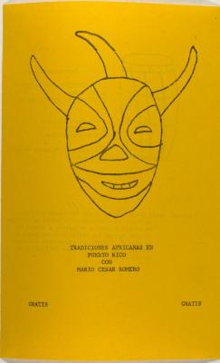 Tradiciones Africanas En Puerto Rico Con Mario César Romero / African Traditions in Puerto Rico With Mario César Romero
