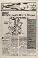Central Board out of Control - Restructure It!
