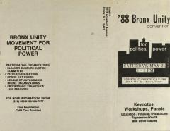 '88 Bronx Unity Convention for Political Power