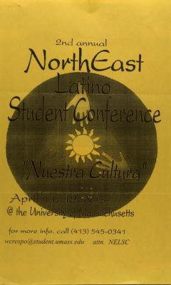 Northeast Latino Student Conference flyer