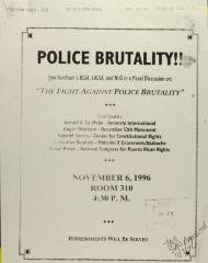 The Fight Against Police Brutality