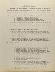 Decision '86 - 1986 Plan of Action