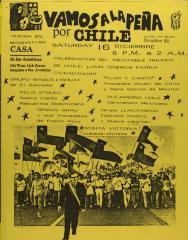 Vamos a la Peña por Chile / Let's go to La Peña for Chile