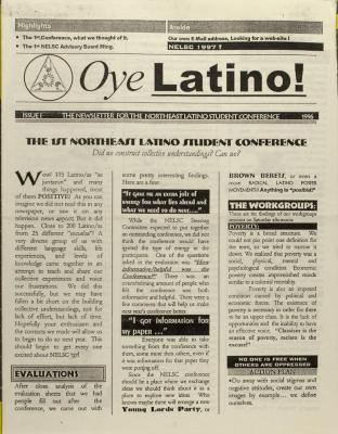 The 1st Northeast Latino Student Conference