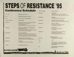 Steps of Resistance '95