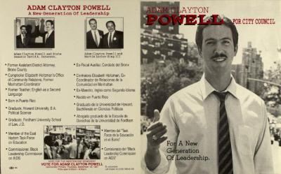 Adam Clayton Powell for City Council