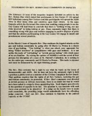 Statement on Rev. Rubén Díaz Comments in Impacto