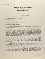 Correspondence from Nydia Velázquez