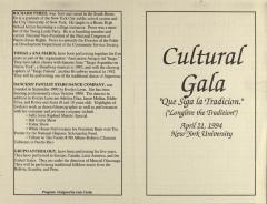 Cultural Gala - Que Siga La Tradición (Longlive the Tradition)