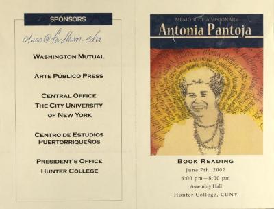 Memoir of a Visionary - Antonia Pantoja