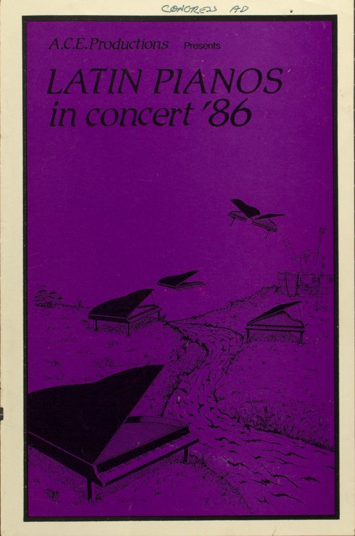Latin Pianos in Concert '86