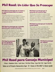 Phil Reed: Un Líder Que Se Preocupada / Phil Reed - A Leader Who Cares