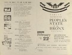 Public Gathering - People's State of the Bronx Report