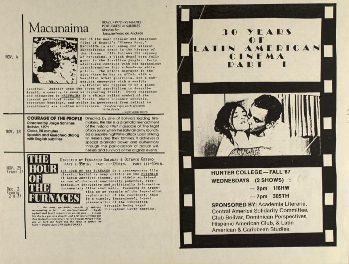 30 Years of Latin American Cinema - Part 1